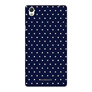 Stylish Colorful Dots Prints Back Case Cover for Sony Xperia T3