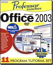 Individual Software VMC-OF5 Professor Teaches Microsoft Office 2003 v5