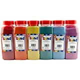 Colored Sand 6 Bright Colors 6 oz. each