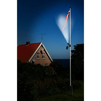 Nature Power 22015 Solar Powered Flag Light