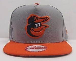 Baltimore Orioles Retro New Era Tropicus Strapback Snapback Style Cap Hat Grey