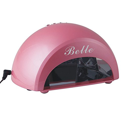 Perfect Nail Tool!!! Belle® New High Quality Dome Portable Both Professional & Home Use 12W Led Light/Lamp For Curing Gel Nail Polish With Timer,110V