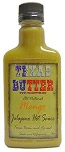 Texas Butter Mango Hot Sauce 8 Ounce by Texas Butter®