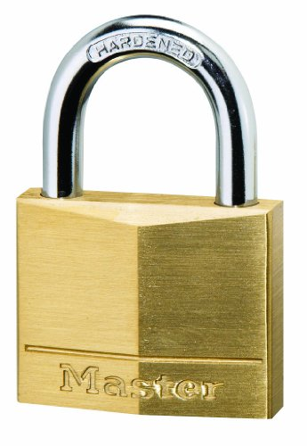 140eurd 40mm Brass Padlock 140eurd 5053252235985 By Master Lock
