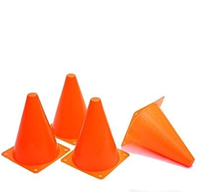 Dazzling Toys Pack of 12 7 Inch Orange Plastic Traffic Cones