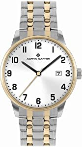 Alpha Saphir Damen-Uhren Quarz  Analog 314I