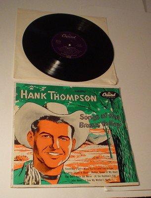 Hank Thompson - Songs of the Brazos Valley - Zortam Music