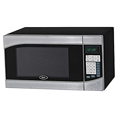 Oster OGH6901 .9 cu. ft. Digital Microwave Oven - Stainless Steel/Black