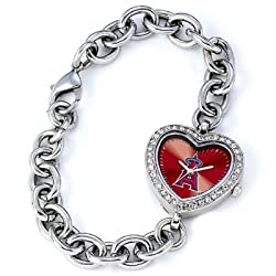 Los Angeles Angels Gametime Heart Bracelet/Watch