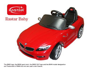 Licensed Bmw Z4 Limited Edition Ride On Toy Battery Operated Car For Kids Remote Control With Key And Lights