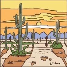 Desert sunset car interior design for Drought resistant grass crossword clue