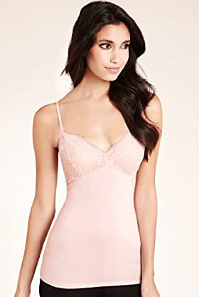 Modal Rich Lace Cupped Camisole