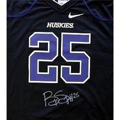 Bishop Sankey Autographed Hand Signed Nike UW Huskies Black Jersey Size L MCS Holo