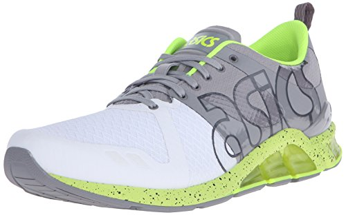ASICS GEL Lyte One Eighty Retro Running Shoe, Dark Grey/Dark Grey, 7.5 M US