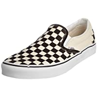 Vans U Classic Slip-on, Baskets mode mixte adulte - Blanc (Black & White/Checker White),39 EU