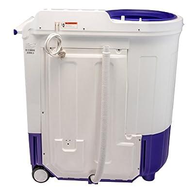 Whirlpool Ace 7.5 Turbo Dry Semi-automatic Top-loading Washing Machine (7.5 kg, Peppy Purple)