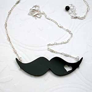 Mustache Love Necklace