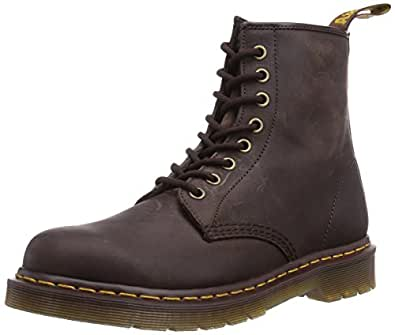 Dr. Martens 1460, Boots mixte adulte - Marron (Gaucho Crazy Horse), 36 EU (3 UK)