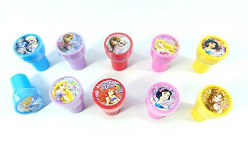 Disney Princess Frozen Congelato Anna Elsa a tema Mini Stampers inchiostro (10 disegni arabescati)