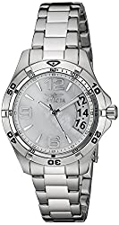 Invicta Womens 21371 Specialty Stainless Steel Watch with Mother-of-Pearl Dial