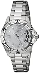 Invicta Women's 21371 Specialty Stainless Steel Watch with Mother-of-Pearl Dial