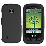 LG Cosmos Touch SnapOn Case - Black