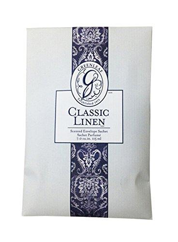 Greenleaf Sacchetto profumatore fragranza CLASSIC LINEN grande formato