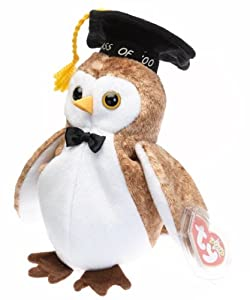 Ty Beanie Babies - Wisest - 2000 Graduation Owl