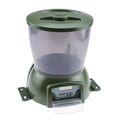 365 aquaponics automatic fish feeders for Automatic pond fish feeder