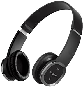 Creative WP-450 Bluetooth Wireless Headphones with Built-in Microphone and Foldable Design for Storage and Portablility