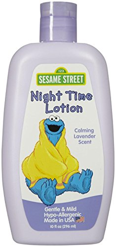 Blue Cross Sesame Street Night Time Lotion - Lavender - 10 oz - 1