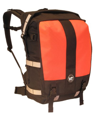 Velo Transit Women S The District 30 Waterproof Roll Top Messenger Bicycle Backpack Orange Small Rankinissimqua