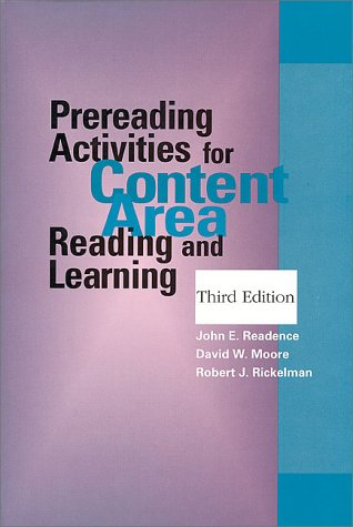 Prereading Activities for Content Area Reading and...