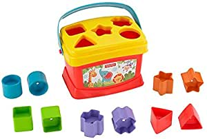 Fisher Price - Bloques Infantiles Con cubo transportable (Mattel  21-7167K)