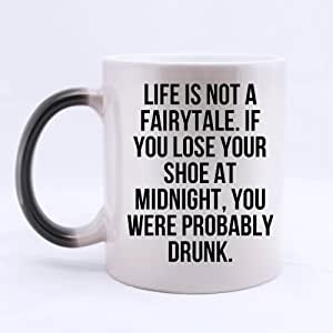 """Amazon.com: Charming Funny Quotes """"Life is not a fairy ..."""