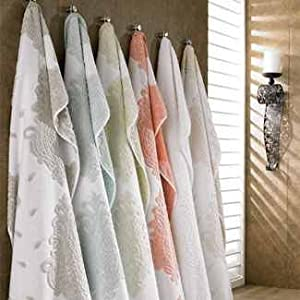 Turkishtowels Roma Collection Hand Towel, White