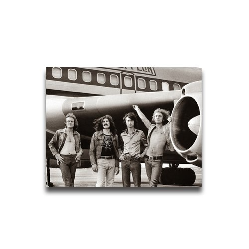 Tt-Shop Retro Classic Led Zeppelin (Airplane) Music Pattern Poster 11*8.5 Inch