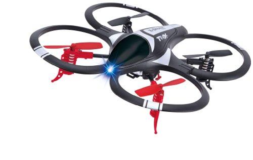 s-idee® 01117 | Quadcopter S-Drone 4.5 Kanal 2,4 Ghz Quadrocopter RC ferngesteuerter Hubschrauber/Helikopter/Heli mit GYROSCOPE-TECHNIK + 2,4Ghz TECHNOLOGIE!!! für INNEN und AUSSEN brandneu mit eingebautem GYRO und 2.4 GHz Steuerung! FLUGFERTIG!