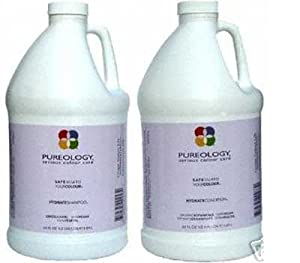 Pureology Hydrate Shampoo 64 Oz & Hydrate Conditioner 64 Oz Set with  2 Pumps