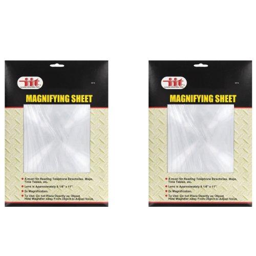 IIT Magnifying Sheet - 2 Pack