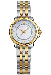 Raymond Weil Tango Mother of Pearl Two-tone Stainless Steel Ladies Watch 5391-SPS-00995