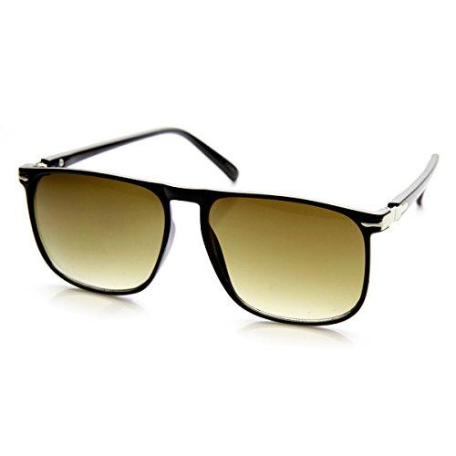 zerouv-modern-flat-top-thin-square-frame-plastic-aviator-sunglasses-black-silver-smoke-gradient