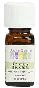 Aura Cacia Aura Cacia Essential Oil, Romantic Jasmine Absolute, 0.125 fluid ounce