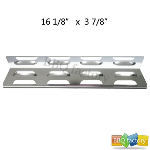 92071 Replacement Stainless Steel Heat Plate/Shield For Select Gas Grill Models By Kenmore, Master Forge And Others