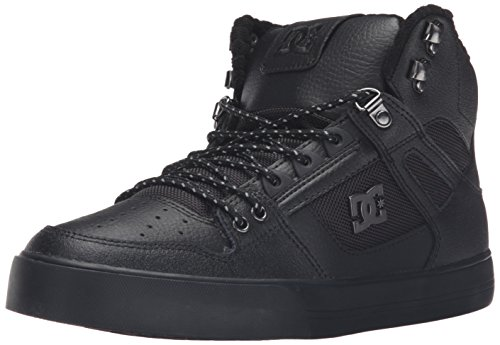 DC Men's Spartan High Wc SE Skateboarding Shoe, Black, 10 M US