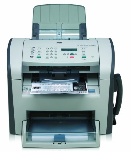 HP LaserJet M1319f Multifunction/All in One: Fax, Scan, Print, and Copy Network Printer