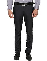 Donear NXG Men's Custom Fit Navy Blue Formal Trouser