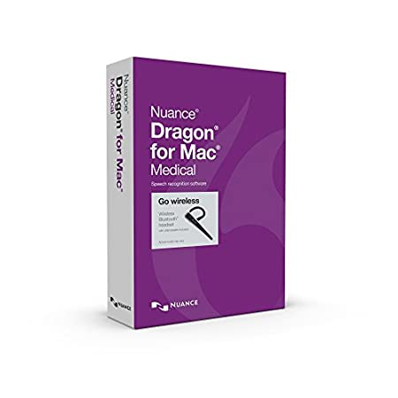 Nuance Communications Dragon fro MAC Medical 5.0, Wireless