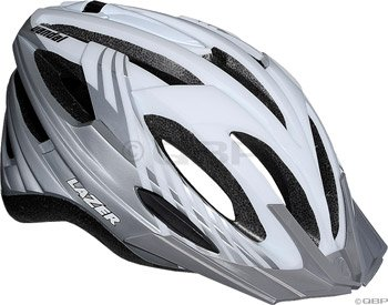 Buy Low Price Lazer Vandal Helmet with Visor: White/Silver (BLU2005664893)