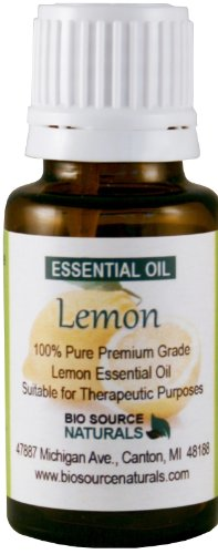 Lemon (Citrus Limonum) From Italy Pure Essential Oil 15 Ml / 0.5 Oz - Aromatherapy